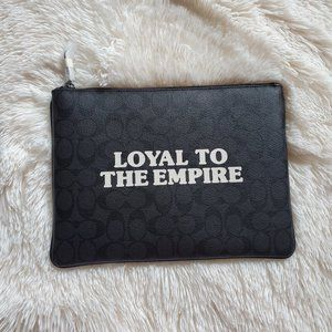 Star Wars x Coach Loyal To The Empire Pouch NWT